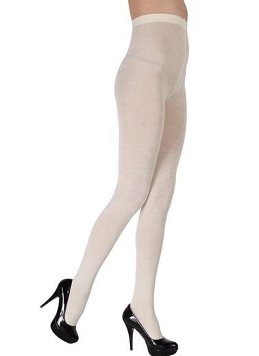 Pierre Cardin Yün Külotlu Çorap  Beyaz